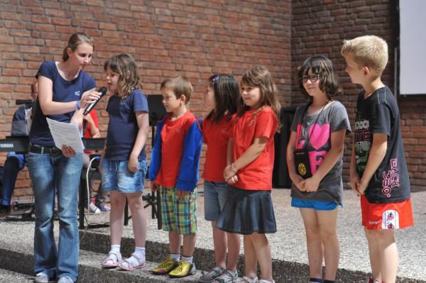 Die Spanien-Lerngruppe trug Fürbitten vor.