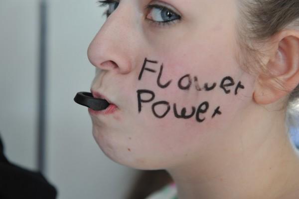 """Ein klares Bekenntnis zur """"Flower Power""""."""