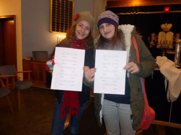 In der Synagoge gab's für die HagenSchüler viel zu sehen.